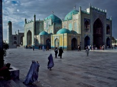 Hazrat Ali mosque in Mazar i Sharif, Afghanistan, 1992